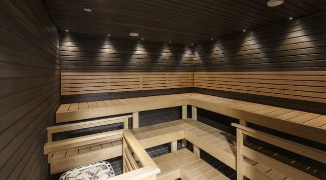 Scandic sauna